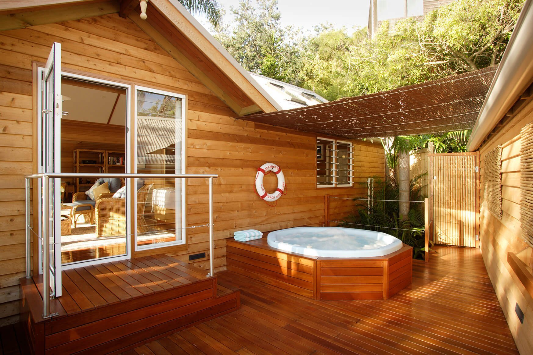 Terrace View Bungalow Jacuzzi and Decking